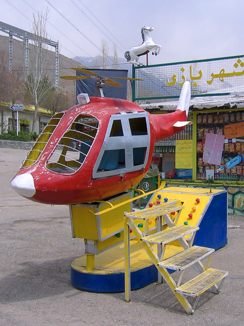mummy ! i want to climb in this helicopter !