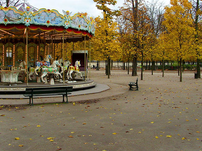 lonely carrousel